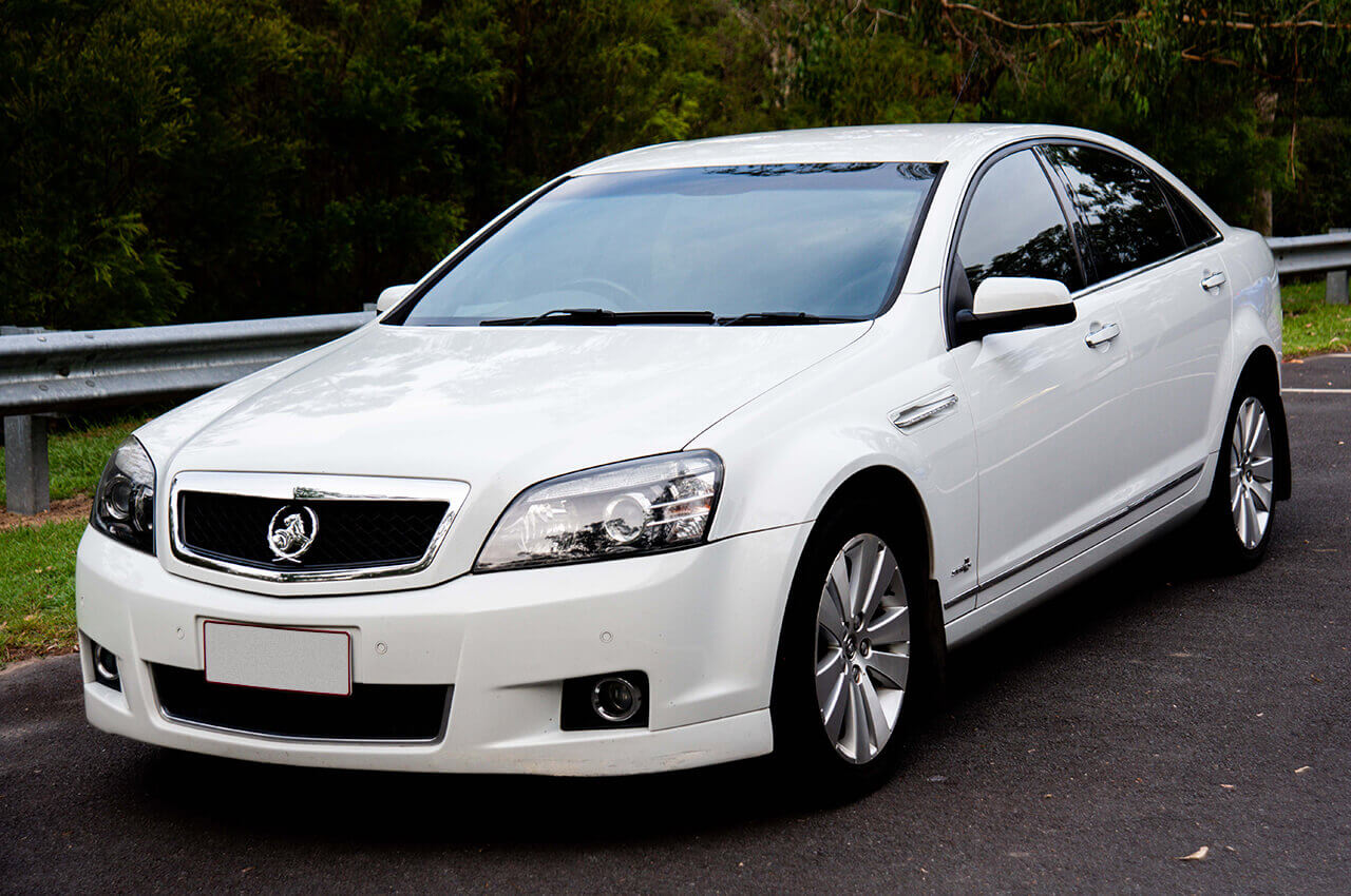 Holden Caprice front image