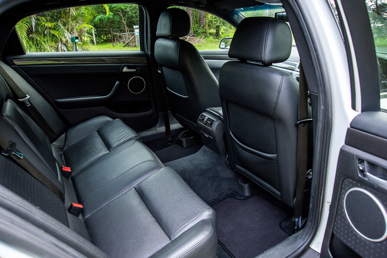 Holden Caprice interior