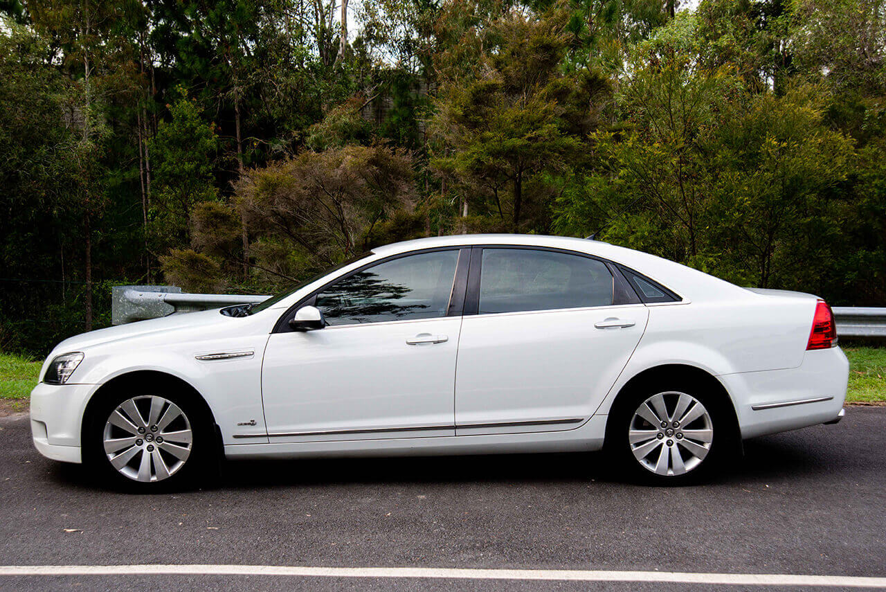Holden Caprice Side View