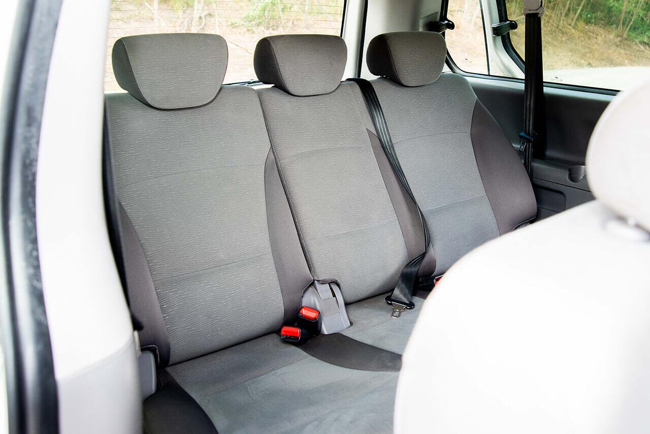 Hyundai 8 Seater People Mover Interior Back Row