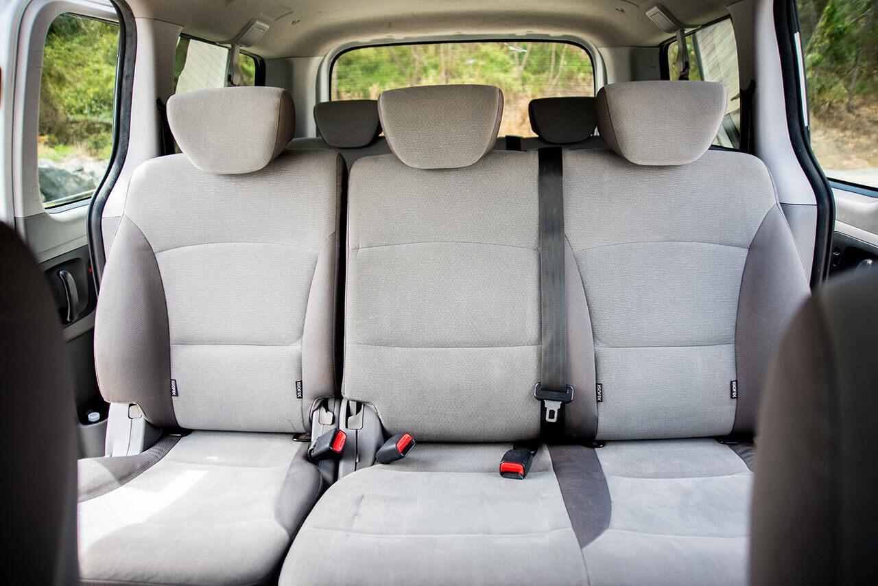 Hyundai 8 Seater People Mover Interior First Row