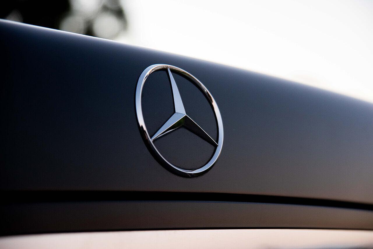 Mercedes S500 Boot Badge