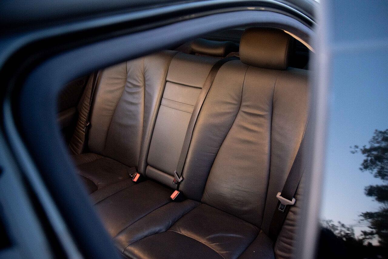 Mercedes S500 Interior