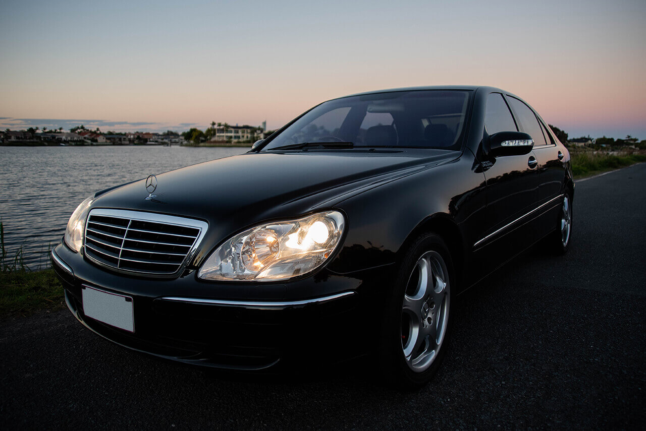 Mercedes S500 Side View