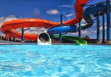 waterslide theme park transfers