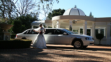wedding car hire by Corporate Limousines