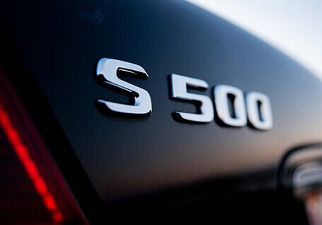 mercedes s500 for airport transfers