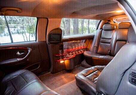 stretch limo wedding car for hire
